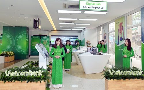 Vay vốn ngân hàng Vietcombank Tín chấp